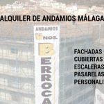 ALQUILER ANDAMIOS MALAGA
