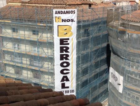 Alquiler Andamios Málaga Calle Larios