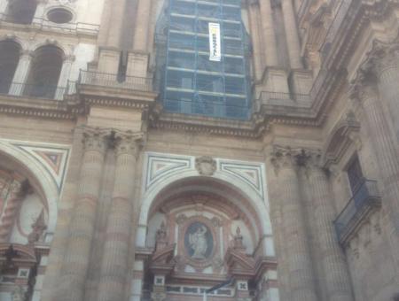 Alquiler Andamios Málaga - Catedral de Málaga