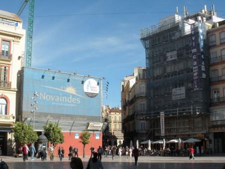 Plaza Constitución Málaga